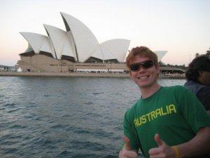 Jimmy Thostenson in Sydney, Australia