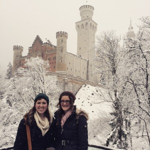 Lauren at Neuschwanstein Castle
