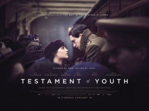 Poster for the film Testament of Youth