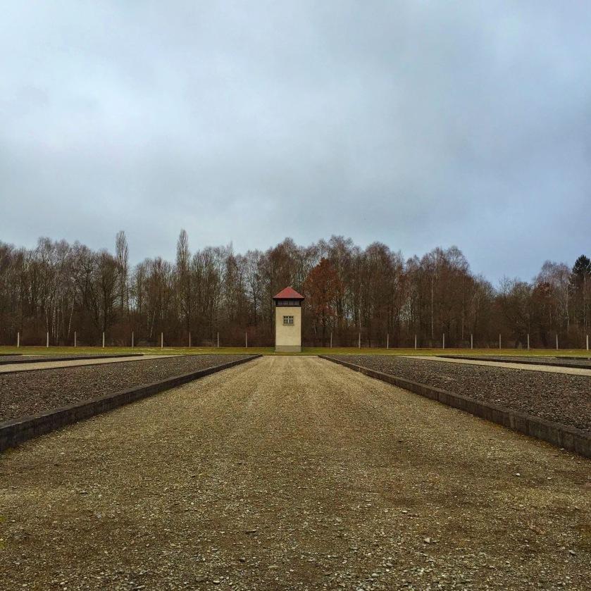 Dachau grounds
