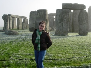 Joylynn at Stonehenge