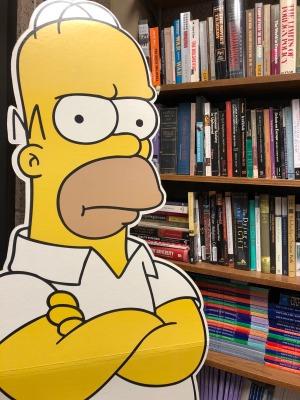 My Homer Simpson cutout